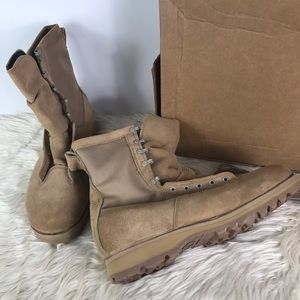 Belleville Army Combat military desert sand boots